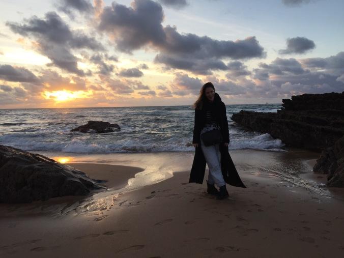 Me at Praia da Cresmina