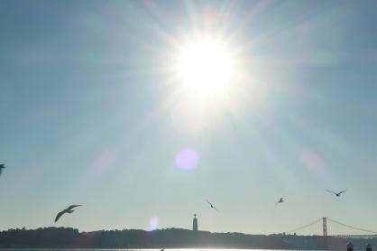 Sun over Lisbon