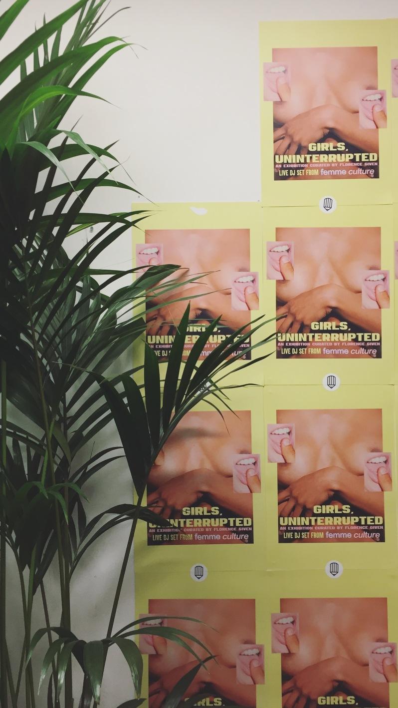 Girls uninterrupted exhibition