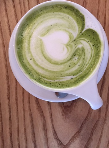 Oh, the beauty of Kaph's Matcha!