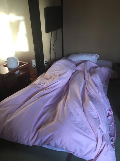 My bed / futon.